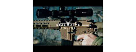 """Stag 15 SPR 18"""" Rifle with Nitride Barrel in 5.56MM - FDE - MD-Compliant - Left-Handed"""