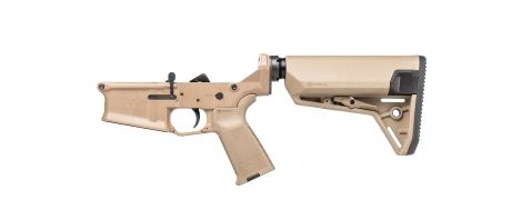Stag 10 Tactical Complete Lower - FDE - Left-Handed