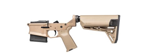 Stag 10 Tactical Complete Lower - FDE - NY/CA-Compliant - Left-Handed