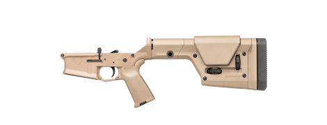 Stag 10 Long Range Complete Lower - FDE - Left-Handed