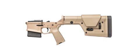Stag 10 Long Range Complete Lower - FDE - NY/CA-Compliant - Left-Handed