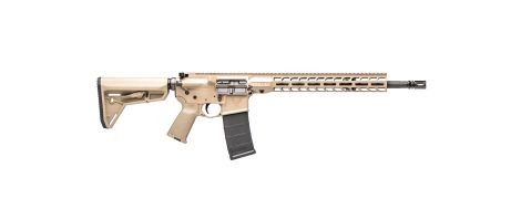 """Stag 15 Tactical 16"""" Rifle with Chrome Phosphate Barrel in 5.56MM - FDE"""