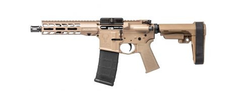 Stag 15 Tactical LH QPQ 7.5 in 5.56 Pistol FDE SL NA