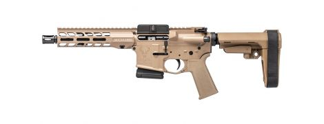 Stag 15 Tactical LH QPQ 7.5 in 5.56 Pistol FDE SL 10R