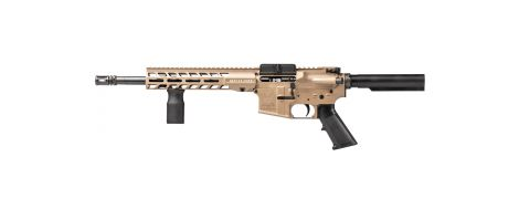 """Stag 15 Other with 12.5"""" Nitride Barrel in 5.56MM - FDE - Left Handed"""