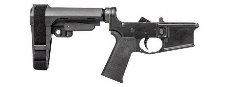 Stag 15 Tactical Pistol RH Complete Lower BLA NA