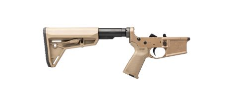 Stag 15 Tactical Complete Lower - FDE - NJ-Compliant