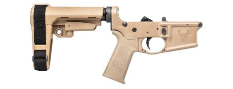 Stag 15 Tactical Pistol RH Complete Lower FDE NA