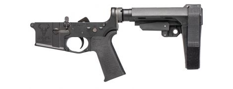 Stag 15 Tactical Pistol LH Complete Lower BLA NA