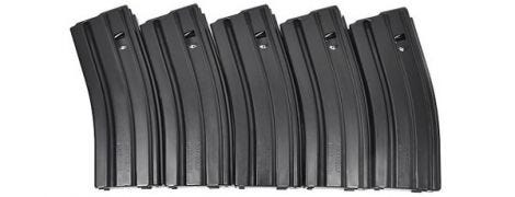 5.56/.223 30rd Aluminum Magazine - Stag Arms - 5-Pack
