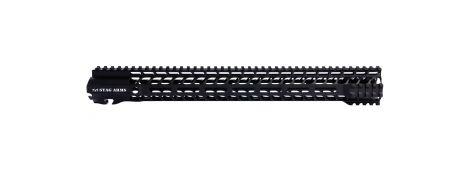 "Stag 15 Slimline Quad 16.5"" M-Lok HG - Anodized"