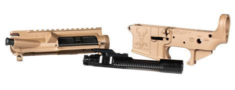 Stag 15 Assembled Upper/Lower combo/BCG RH FDE